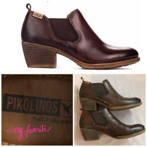 PIKOLINOS BAQUEIRA LEATHER BOOTS